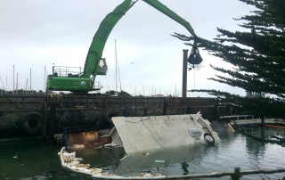 Barge Salvage Environmental Remediation San Francisco Delta
