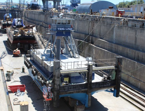 Dry Dock Now Open at Lind Marine Shipyard