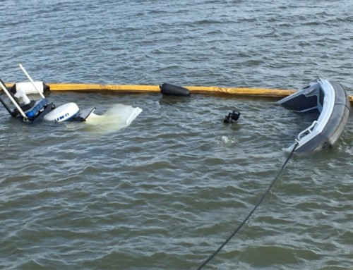 Retrieval of Sunken Contra Costa Sheriff Patrol Boat