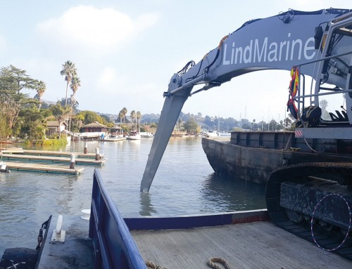 Lind Marine Dredging Services for Marinas & Homeowners